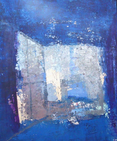 Fenêtre sur les bleus